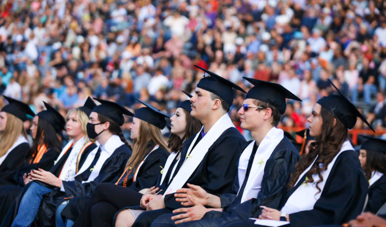Rock Springs High School Graduates 264 in Twilight Ceremony