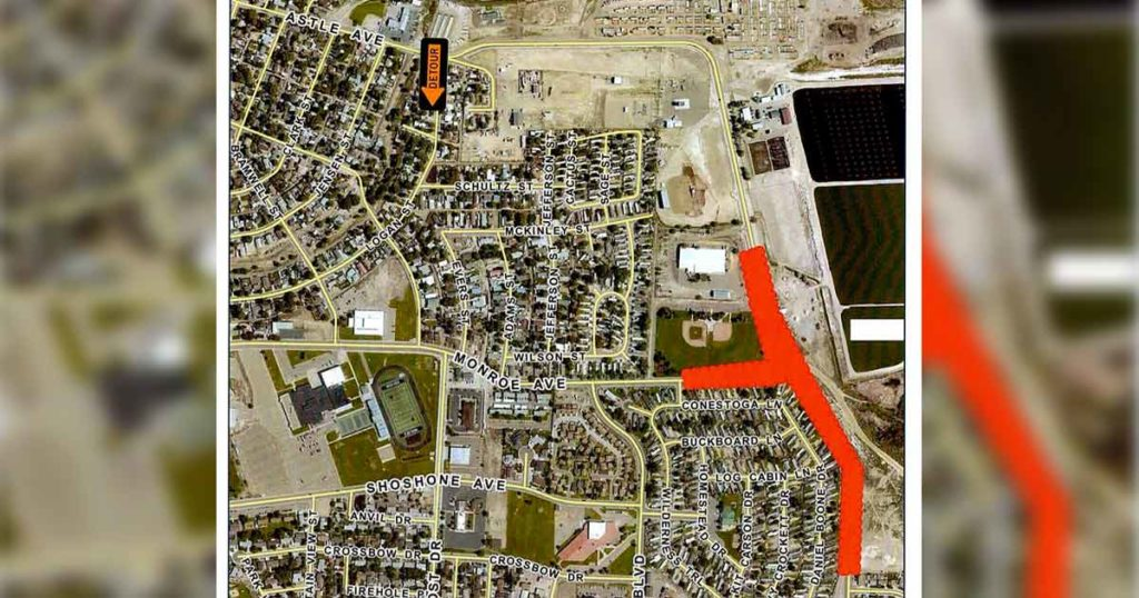 GR to Temporarily Close East Teton Boulevard Starting Monday
