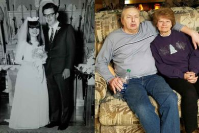 George and Betty Stetich are Celebrating Their Golden Anniversary Today