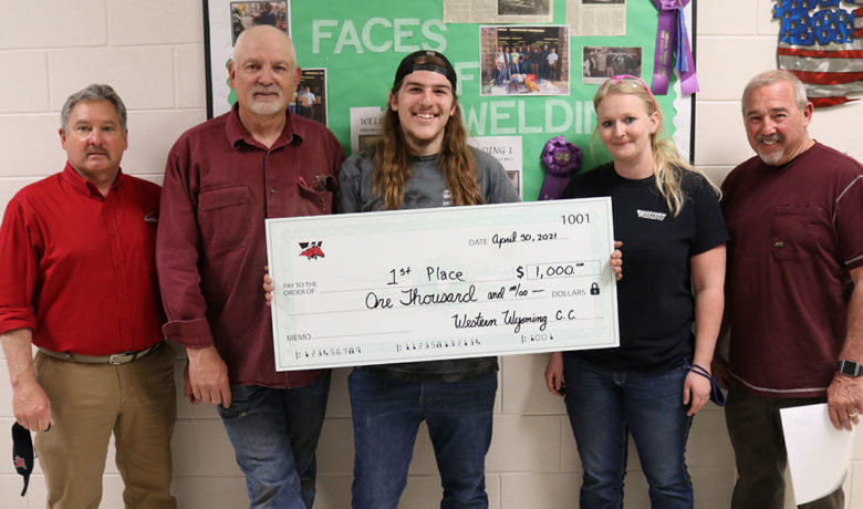 Green River High School Welders Compete in In-House Contest