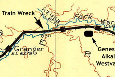 Worst Train Wreck in History of Sweetwater County Killed 14