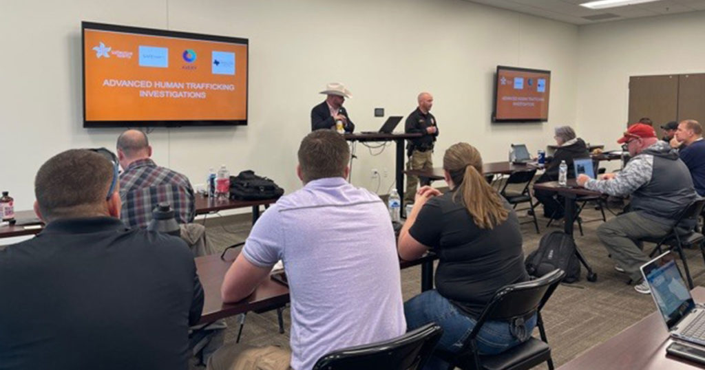 Sweetwater County Law Enforcement Receive Human Trafficking Investigation Training