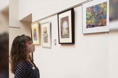 Artist Showcases Watercolor Pieces at Sweetwater County Library
