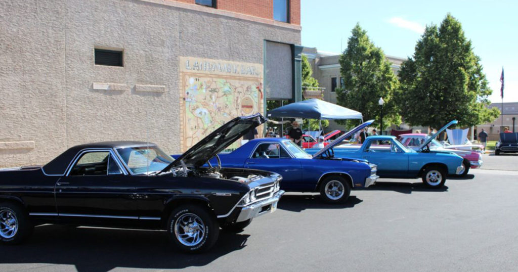 Cruise to Downtown Wheatland for the Blue Mountain Car Show!