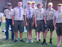 """Boy Scout Troop Helping """"Crush Corona"""" with Free Cow Set Up"""