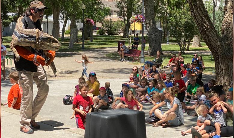 PHOTOS: Area Youth Enjoy Dino Encounters in Bunning Park Tuesday