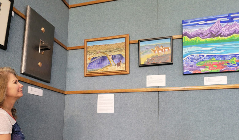 Sublette County Artists on Display at White Mountain Library Through July