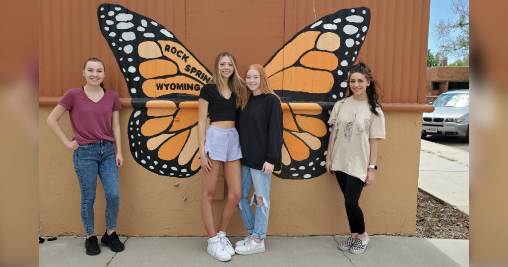 Four Earn Rock Springs Main Street Volunteers of the Month For May