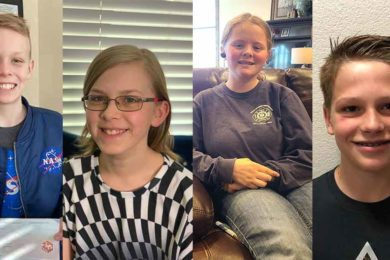 Four RS Junior High Students Selected for UW Astro Camp