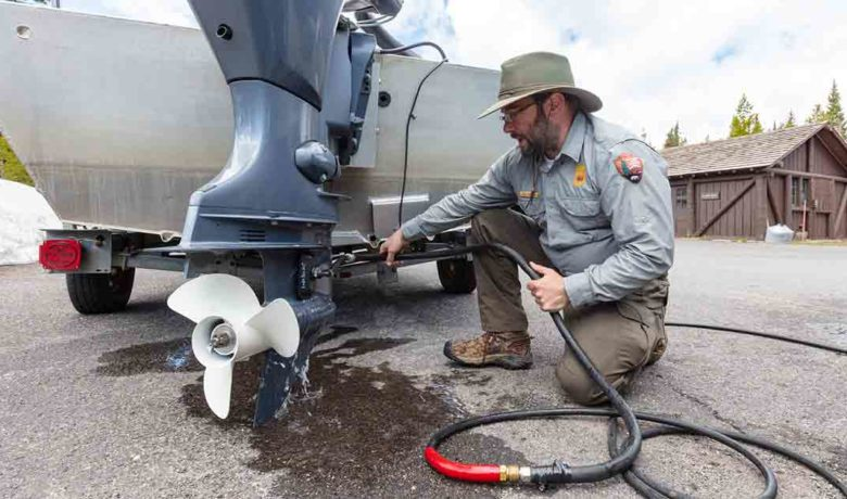 Yellowstone Boat Inspector Finds Quagga Mussels on Visitor's Boat