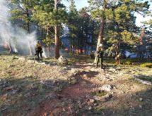 Robinson Fire Near Buffalo Grows to 1,000 Plus Acres