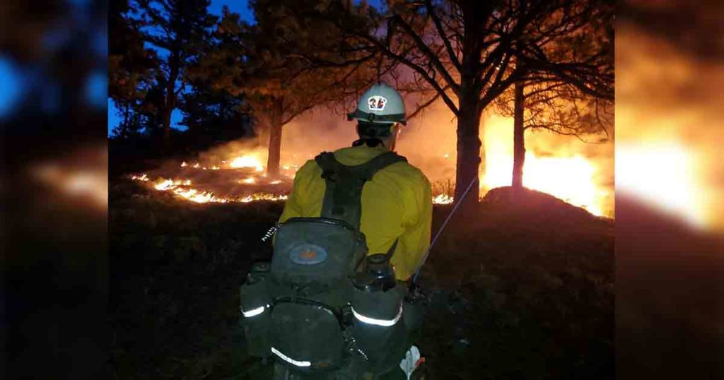 Robinson Fire Near Buffalo About 64% Contained