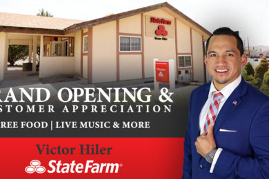 GRAND OPENING & CUSTOMER APPRECIATION: Victor Hiler State Farm Agent; Celebrate with Food & Fun!