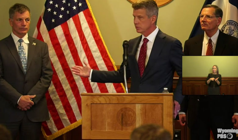 Governor Gordon Announces Historic Nuclear Facility in Wyoming