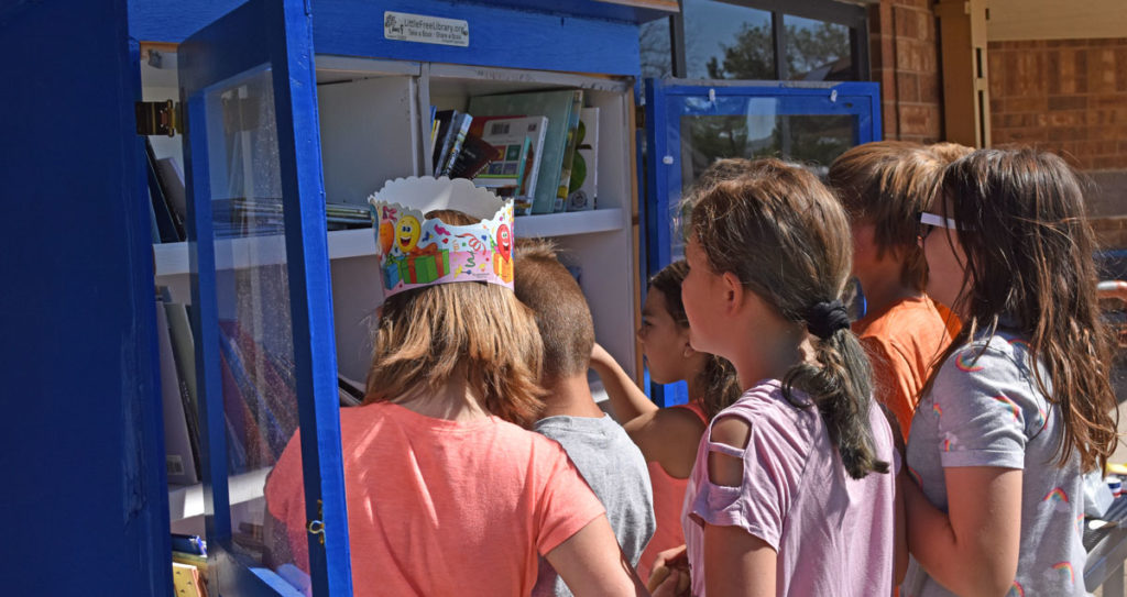 Truman Elementary Opens Little Free Library