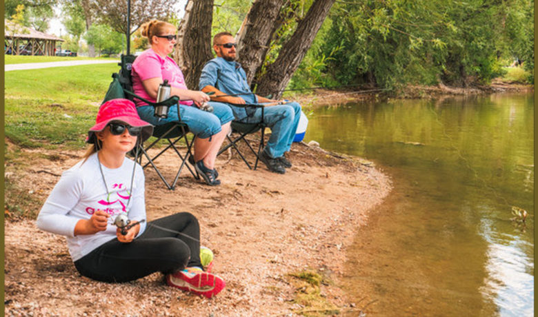 Game and Fish Urges Anglers Adjust Practices Due to Heat, Drought