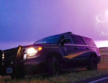 High Speed Chase Ends Near Burns Today