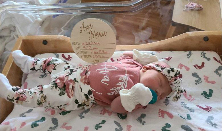 Birth Announcement: Ava Marie Brehm