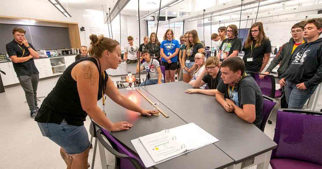 Rock Springs Student, Teacher attend UW's Teton STEM Academy
