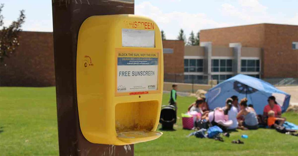 Residents to Benefit from Sunscreen Dispensers Located in Local Parks