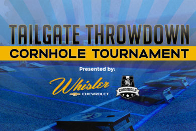 Win $3,000+ in Prizes at the Tailgate Throwdown Corn Hole Tournament!