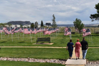 Flags of Honor Proudly Fly in Green River