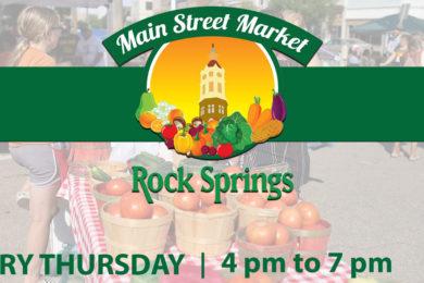 The Rock Springs Main Street Market is Back!