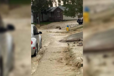 Rock Springs Looks at Declaring State of Emergency Due to Flooding Damage