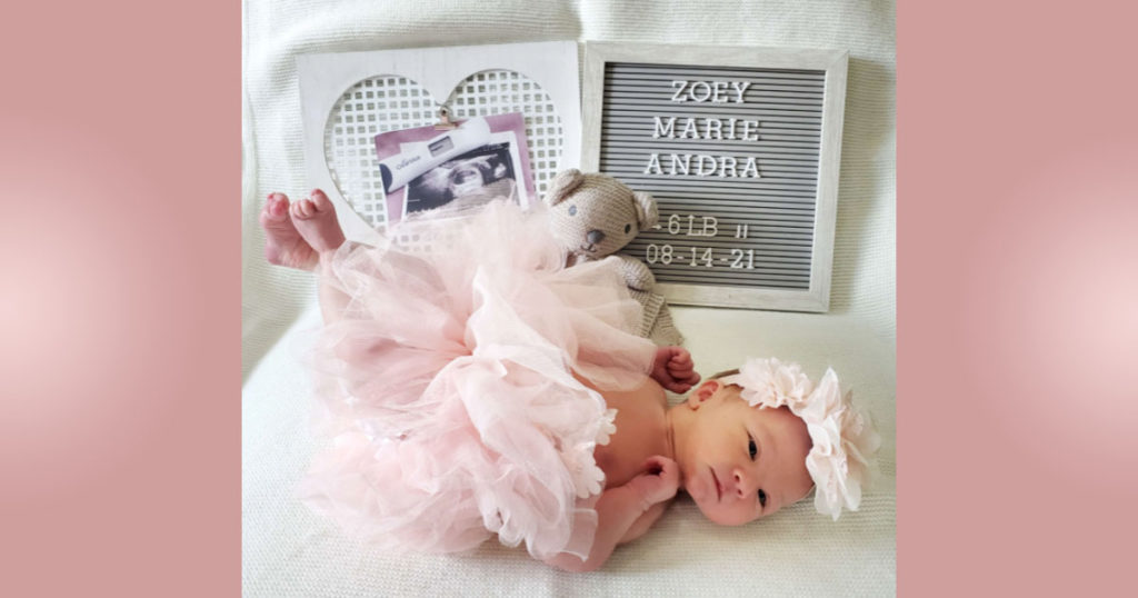 Birth Announcements: Zoey Marie Andra
