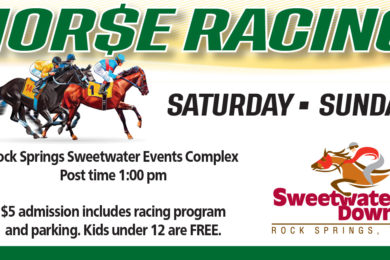 Head Out to Enjoy Live Horse Racing This Weekend at Sweetwater Downs!