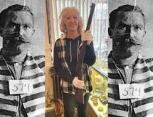 A Butch Cassidy Gang Member's Descendent Visits Local Museum
