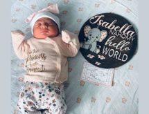 Birth Announcement: Isabella Naomi López