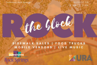 'Rock the Block' With Us This Weekend!