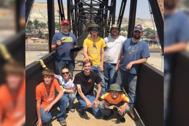 Green River Eagle Scout Cleans Up Walkway Bridge