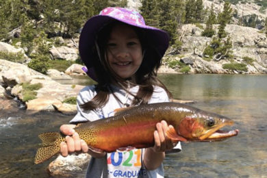 """4-Year-Old Girl Could Break 'Smallfry"""" World Record With Golden Trout Caught in Wyoming"""