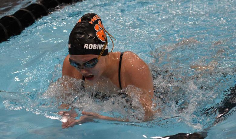 Robinson-Kim Wins Rawlins Pentathlon; Lady Tigers Take Top Spot