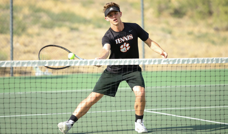 Tigers Tennis Hosts Natrona County, Kelly Walsh