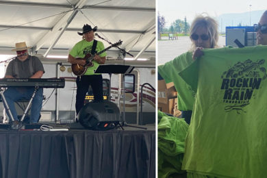 Organizers Thank Donors, Volunteers for Rockin' From The Rain Efforts