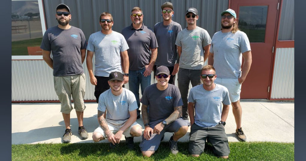 Rock Springs URA Names Complex Maintenance Crew Volunteers of Month