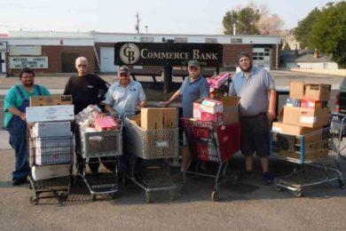 Truck Load of Food Collected for Food Bank at Local Labor Day Picnic
