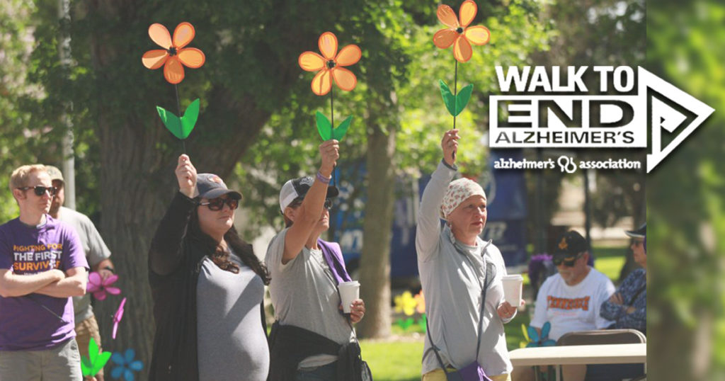 Fight for the First Survivor at the 2021 Walk to End Alzheimer's Disease