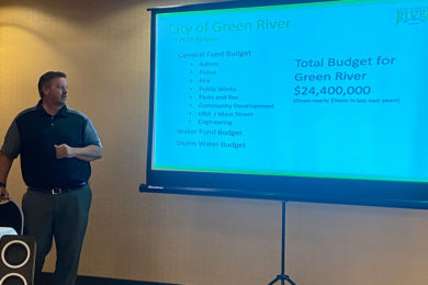 Green River Looks at Sales Tax Revenue Drop in State of The City Address