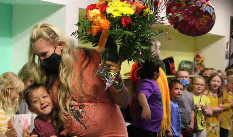 GR's Brittney Montgomery Named Wyoming's Teacher of the Year