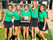 Wolves' Salas Takes Home Second Place in State Golf Championships