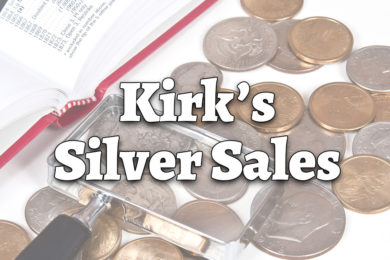 Kirk's Silver Sales Has Your Metal Needs Covered