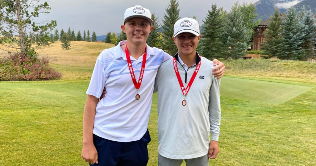 Rock Springs' Young, Fletcher Finish in Top 10 at State Golf Championships