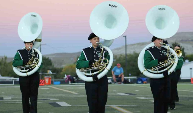 GRHS, RSHS Bands to Perform at UW's Marching Band Invitational