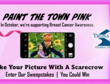 Win a $25 Gift Card in Trona Valley's Paint the Town Pink Photo Contest!