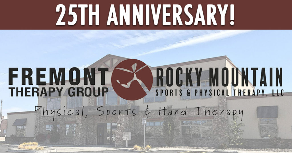 Fremont Therapy and Rocky Mountain Celebrate 25th Year in Business