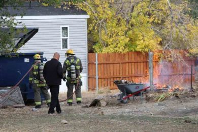 PHOTOS: Green River Firefighters Respond to 2 Outdoor Fires